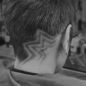 facebook - Muster In Haare Rasieren